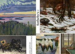 """Топ-5 самых дорогих лотов аукциона Sotheby's """"Европейская живопись XIX века"""""""
