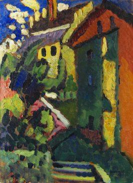 Картину Кандинского «Лестница к замку» продали за 2,5 млн евро