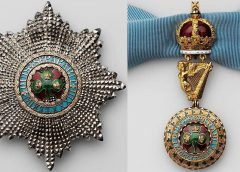 Звезда и знак ордена Святого Патрика