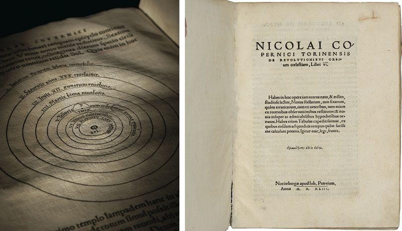 Главная работа Николая Коперника о гелиоцентрической модели мира продана за 587 тысяч фунтов стерлингов