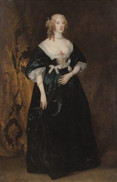 картину ван Дейка «Анна-София, графиня де Карнарвон»