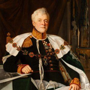 «Портрет светлейшего князя Д. В. Голицына» Франц Рисс