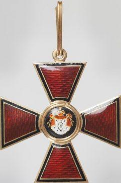 Знак ордена Святого Владимира I степени