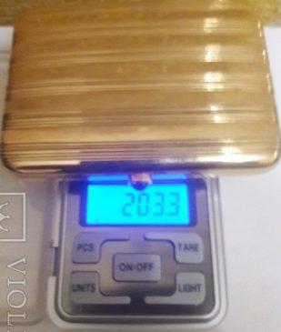 золотой портсигар