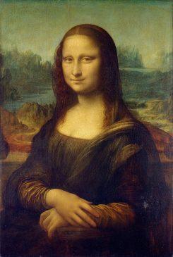 """""""Джоконда"""" Леонардо да Винчи разрушается. Трещина достигла середины лба"""
