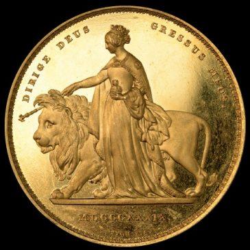 5 фунтов 1839 года