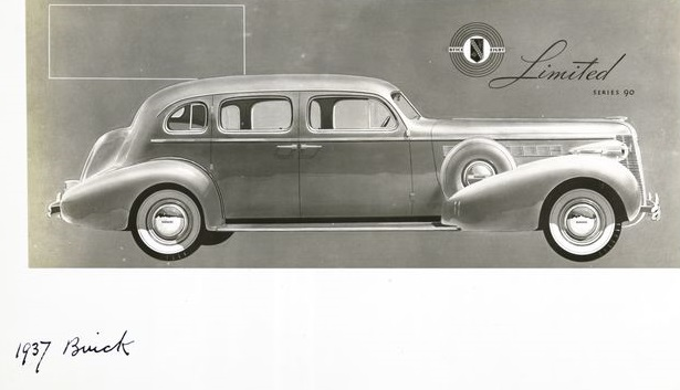 Buick 90 Limited 1937 года