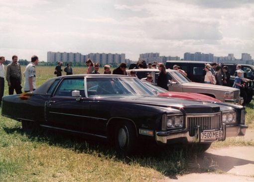 Cadillac Eldorado 1972 года