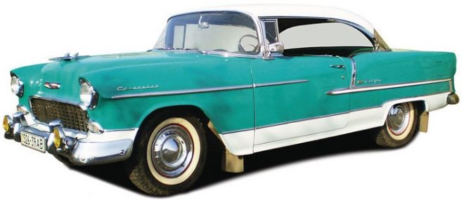 Chevrolet Bel Air Sport Coupe Hardtop