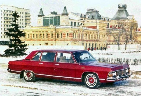 ГАЗ-14 «Чайка» Леонида Брежнева