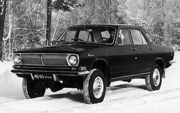 «Волга» ГАЗ-24-95 4Х4