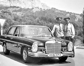 Mercedes 280 SL (W108) Леонида Брежнева