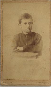единственная уцелевшая детская фотография Александра Колчака, сделанная в 1886 году