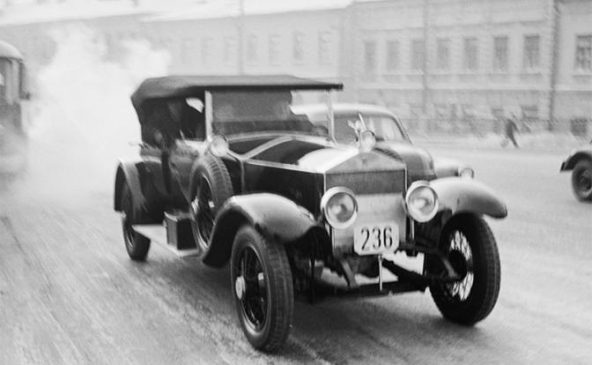 Rolls-Royce Silver Ghost Владимира Ленина