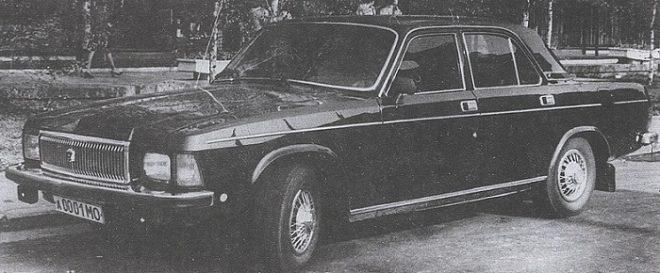 Волга ГАЗ-3102 Леонида Брежнева