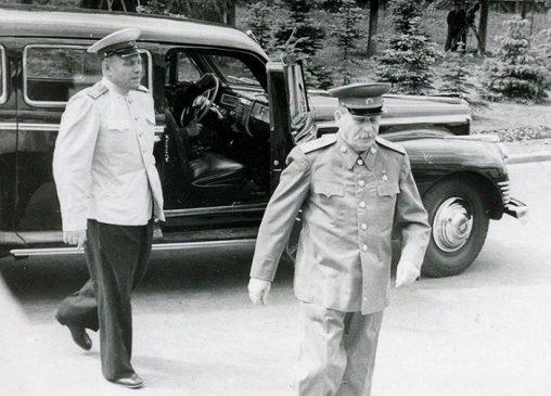 Иосиф Сталин и ЗИС-115, 1950 год