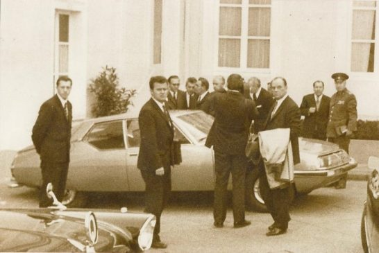 Спортивное купе Citroen SM