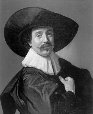 Франс Хальс (1582-1666) «Портрет неизвестного господина в шляпе и перчатках»