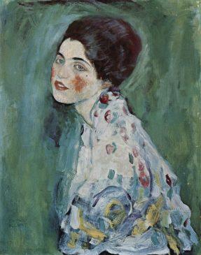 Густав Климт «Портрет женщины», 1916-17 годы