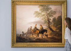 Британские власти запретили вывозить из страны картину Гейнсборо «Поездка на рынок»