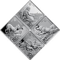 НБУ выпустил памятные монеты из серебра номиналом 10 гривен «Пектораль»