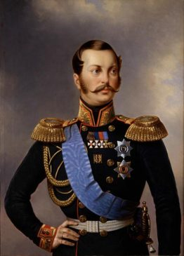 Российский император Александр II (1818-1881)