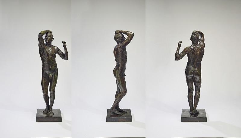 """Скульптура Огюста Родена """"Бронзовый век"""" (L'Âge d'airain)"""
