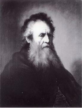 Ян Ливенс(1607-1674) «Старик». Копия работы Рембрандта (1606-1669), оригинал которой находится в коллекции Гарвардского университета (США)