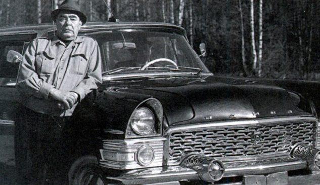 """ГАЗ-13 """"Чайка"""" Леонида Брежнева"""