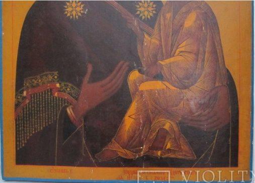 Икона 1743 года. Серебро