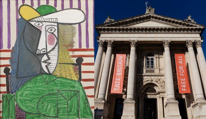В лондонской галерее Тейт вандал напал на картину Пикассо «Бюст женщины»