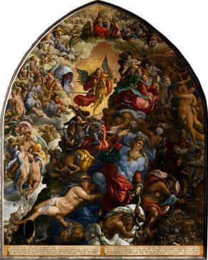 Антон Мёллер «Страшный суд» 1594 год