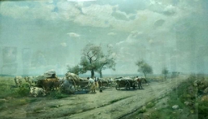 «Чумацкий ромадановский путь», 1910-е годы, Сергей Васильковский
