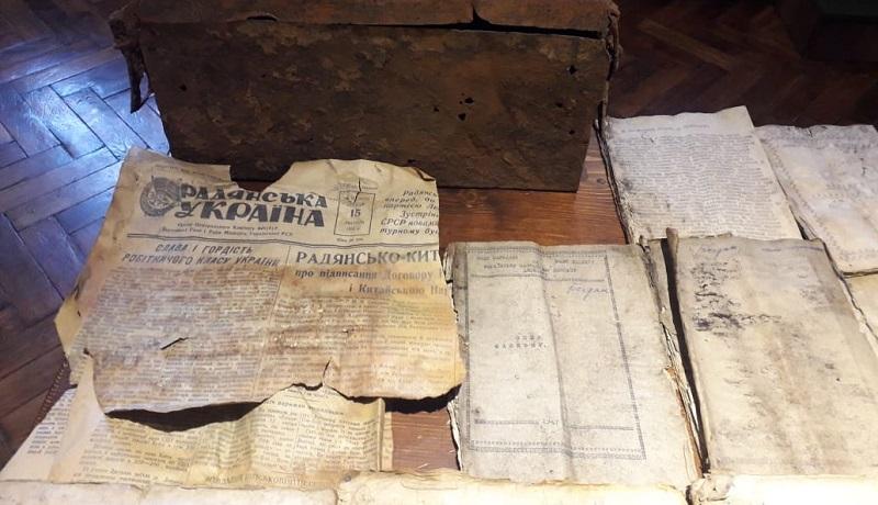 В Ивано-Франковский музей освободительной борьбы передали архив документов УПА