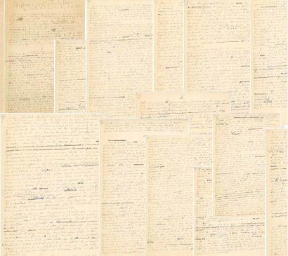 Рукопись манифеста Пьера де Кубертена