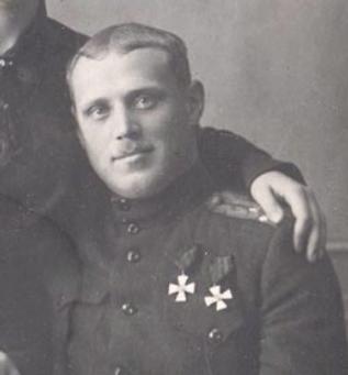 Сергей Авдеев - дважды кавалер ордена Святого Георгия 4-й степени