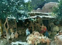 """""""Східний двір. Етюд"""", 1901-1911 годы, Сергей Светославский"""
