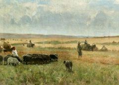 """""""Жнива"""", 1900-е годы, Сергей Светославский"""