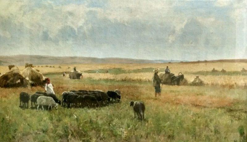 «Жнива», 1900-е годы, Сергей Светославский