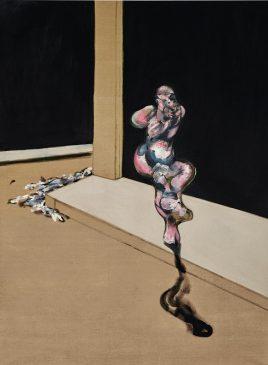 "Фрэнсис Бэкон ""Разворотная фигура"" (Turning figure)"