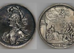 Серебряная медаль в память коронации императрицы Екатерины II, 1767 год