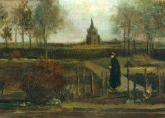"""Из музея в Нидерландах украли картину Ван Гога """"Весенний сад, пасторский сад в Нюэнен весной"""""""
