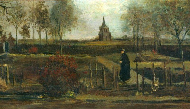Из музея в Нидерландах украли картину Ван Гога «Весенний сад, пасторский сад в Нюэнен весной»