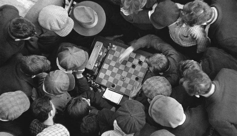 Шахматы в живописи и искусстве