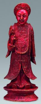 Шахматные фигуры. Китай, Гуанчжоу, середина XIX века. Слоновая кость, резьба, краска.