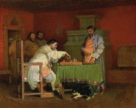 Вячеслав Шварц «Сцена из домашней жизни русских царей» 1865