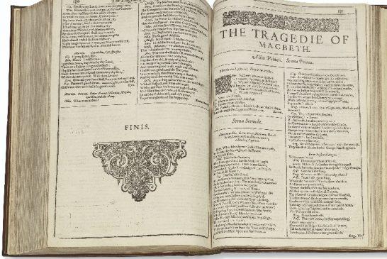 Первое собрание пьес Уильяма Шекспира (1623)