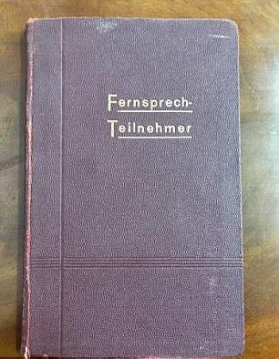Телефонная книга Гитлера