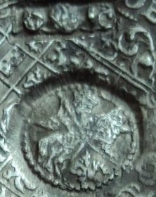 Ефимок 1655 с признаком Георга Вильгема
