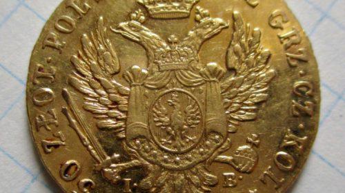 50 злотых 1818 года IB